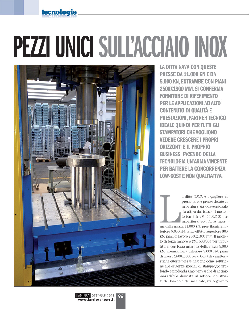 presse per acciaio inox pdf